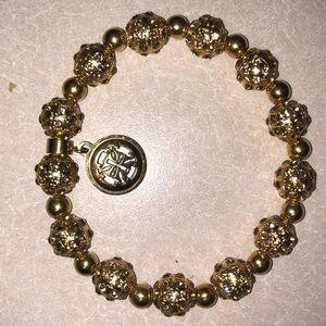 Jewelry - Rustic cuff gold bracelet